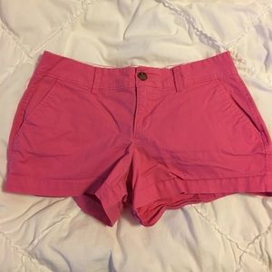 Pink canvas short